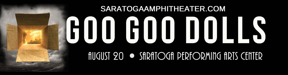The Goo Goo Dolls & Phillip Phillips at Saratoga Performing Arts Center