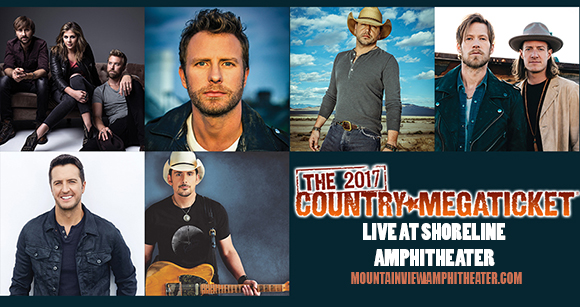 2018 Country Megaticket Tickets (Includes All Performances) at Saratoga Performing Arts Center