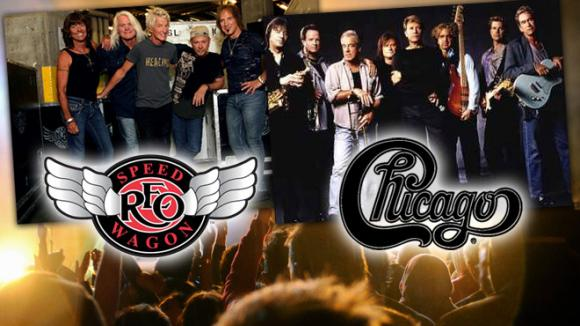 Chicago & REO Speedwagon at Saratoga Performing Arts Center