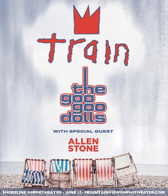 Train, Goo Goo Dolls & Allen Stone at Saratoga Performing Arts Center