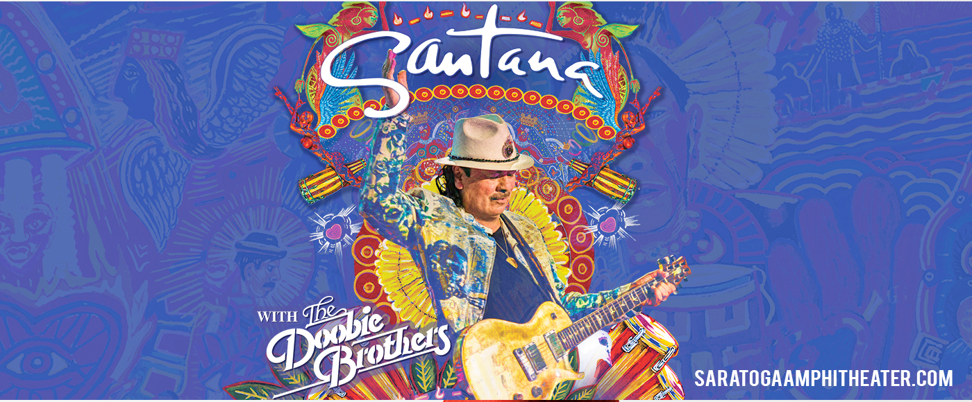 Santana & The Doobie Brothers at Saratoga Performing Arts Center