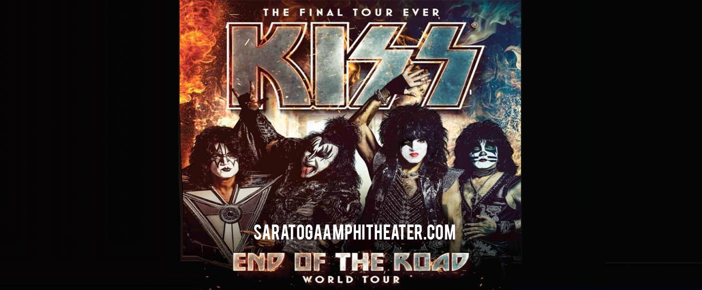 Kiss at Saratoga Performing Arts Center