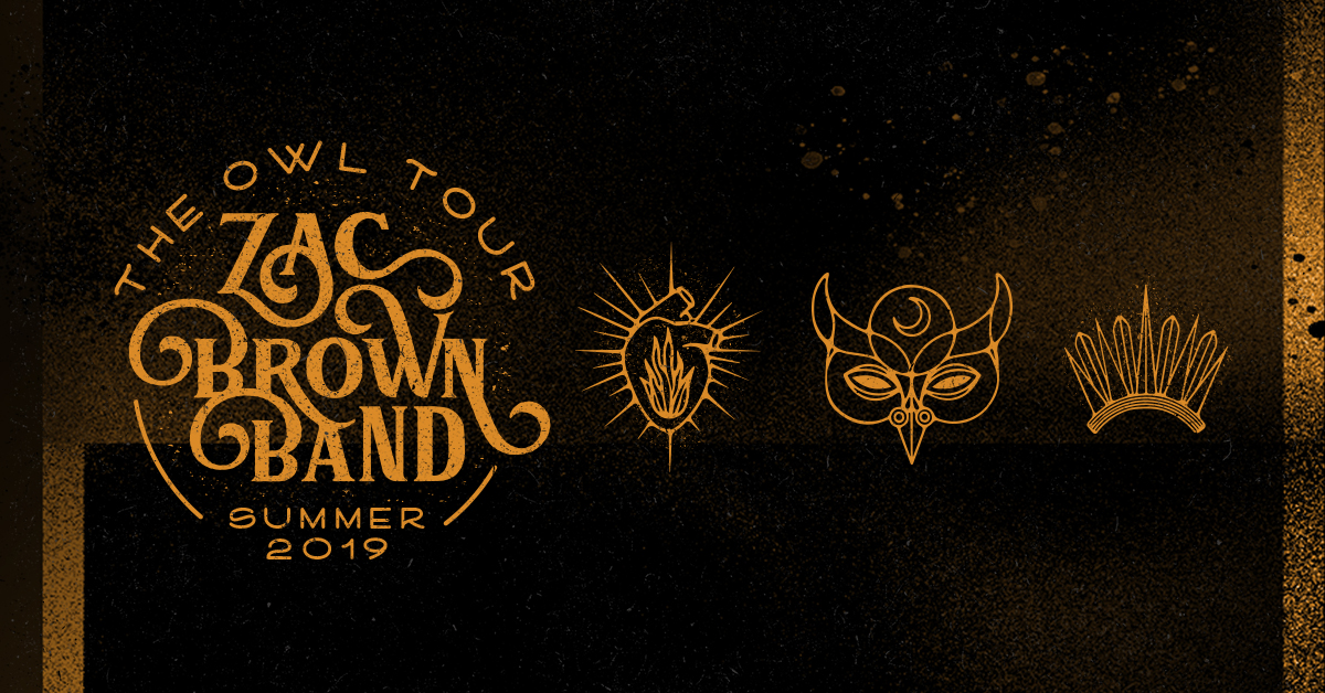 Zac Brown Band at Saratoga Performing Arts Center