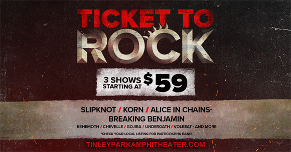 2019 Ticket To Rock Tickets (Includes All Performances) at Saratoga Performing Arts Center