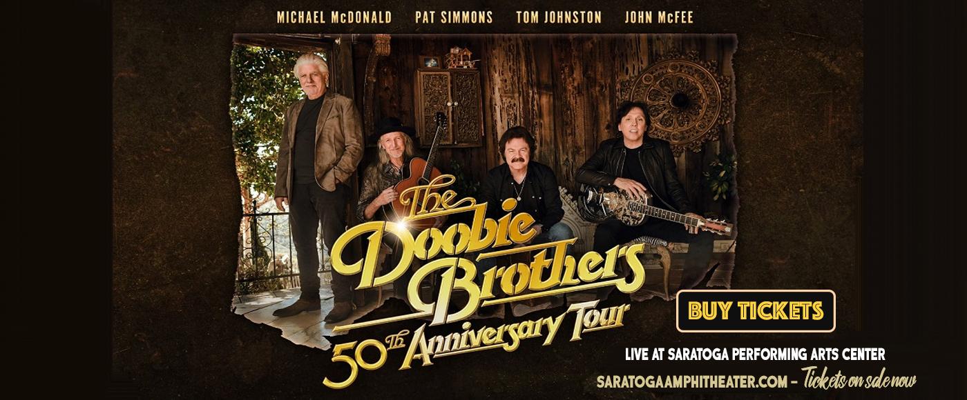 The Doobie Brothers & Michael McDonald at Saratoga Performing Arts Center