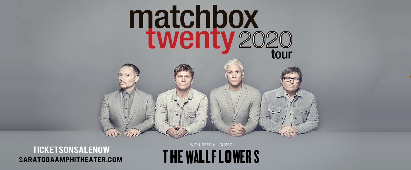 Matchbox Twenty & The Wallflowers at Saratoga Performing Arts Center