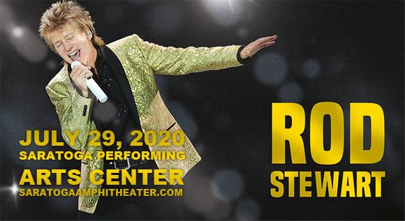 Rod Stewart at Saratoga Performing Arts Center