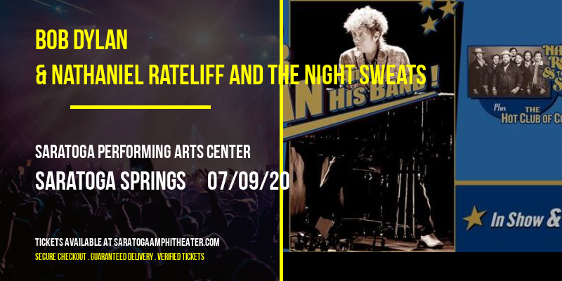 Bob Dylan & Nathaniel Rateliff and The Night Sweats at Saratoga Performing Arts Center