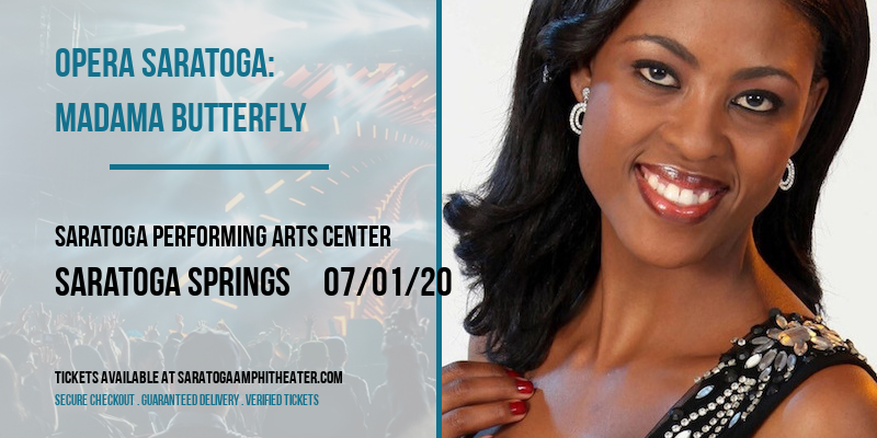 Opera Saratoga: Madama Butterfly at Saratoga Performing Arts Center