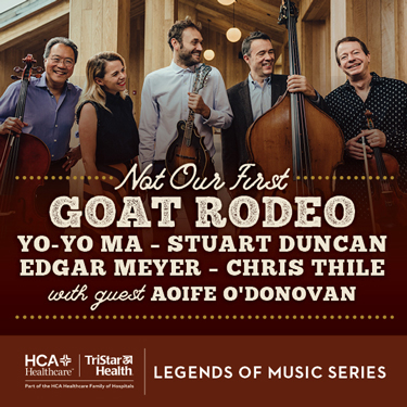 Not Our First Goat Rodeo at Saratoga Performing Arts Center
