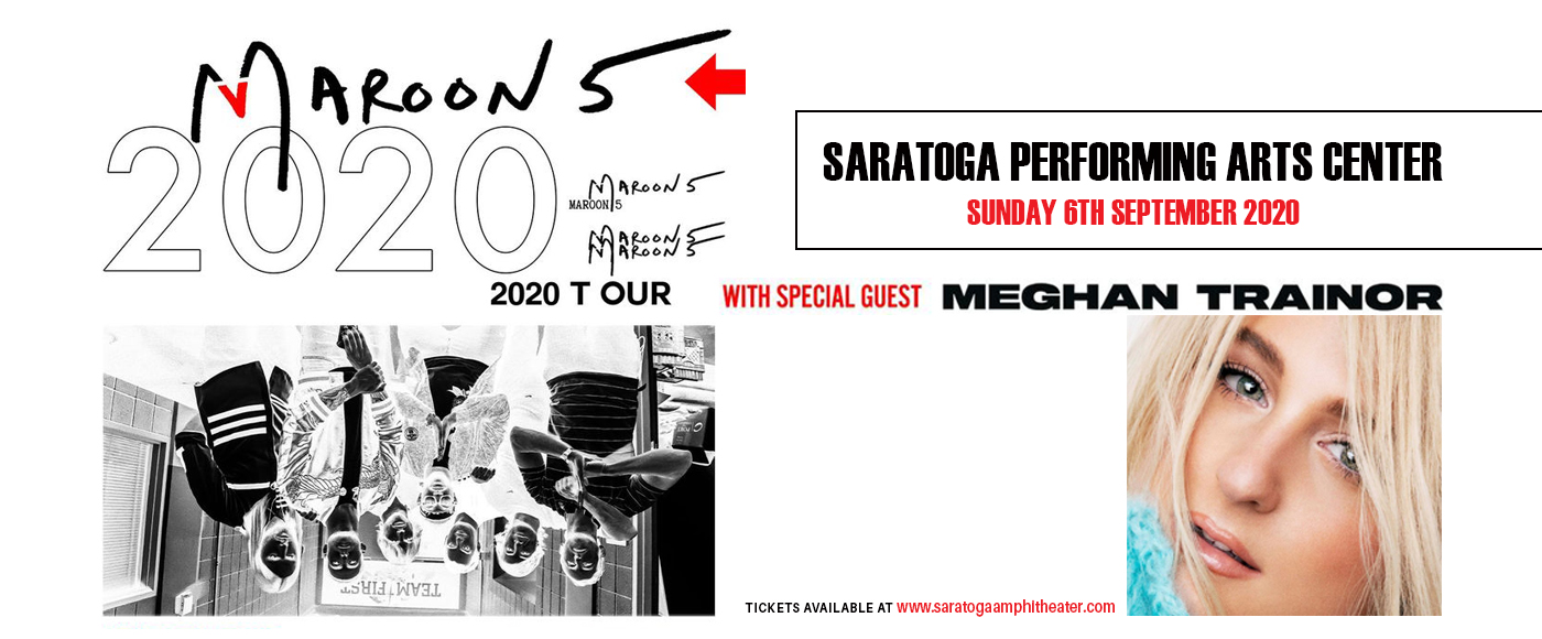 Maroon 5 & Meghan Trainor [POSTPONED] at Saratoga Performing Arts Center