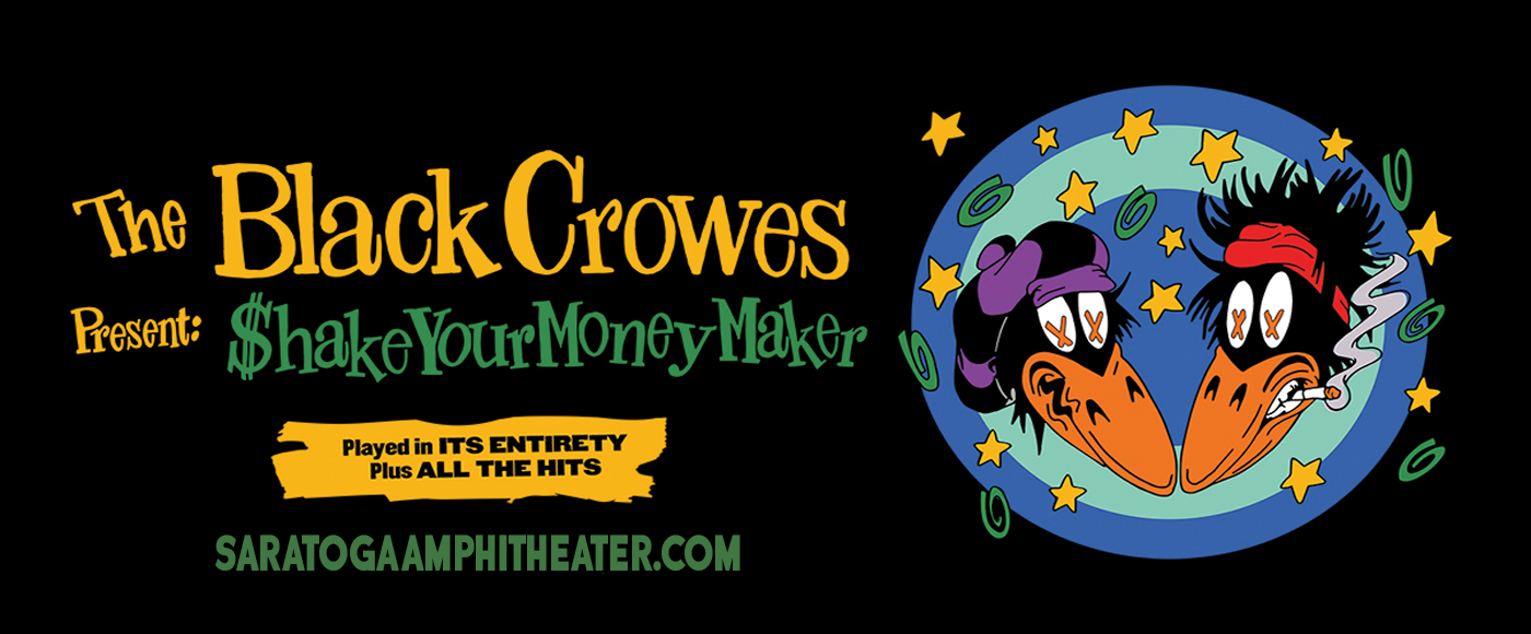 The Black Crowes [POSTPONED] at Saratoga Performing Arts Center
