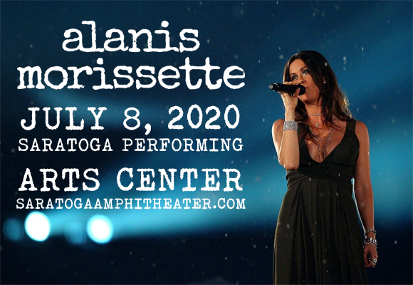 Alanis Morissette [POSTPONED] at Saratoga Performing Arts Center