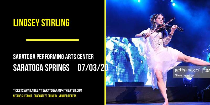 Lindsey Stirling [POSTPONED] at Saratoga Performing Arts Center