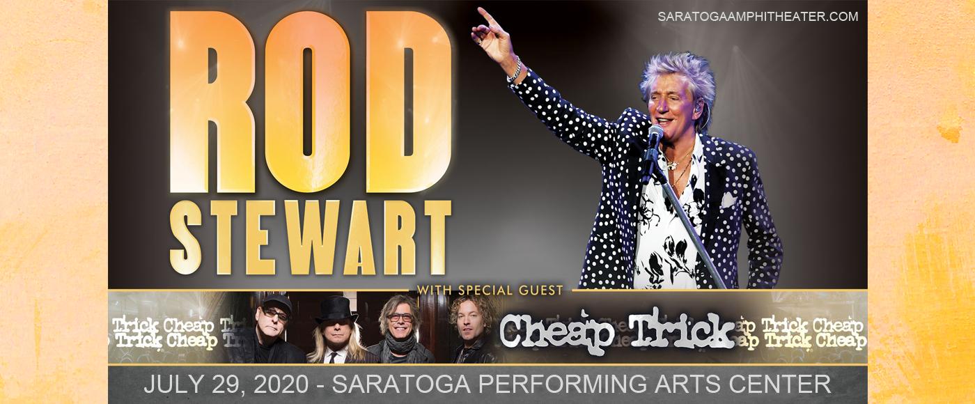 Rod Stewart [POSTPONED] at Saratoga Performing Arts Center