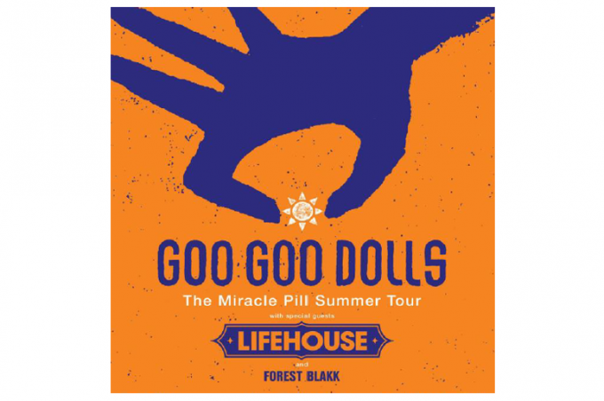 Goo Goo Dolls & Lifehouse at Saratoga Performing Arts Center