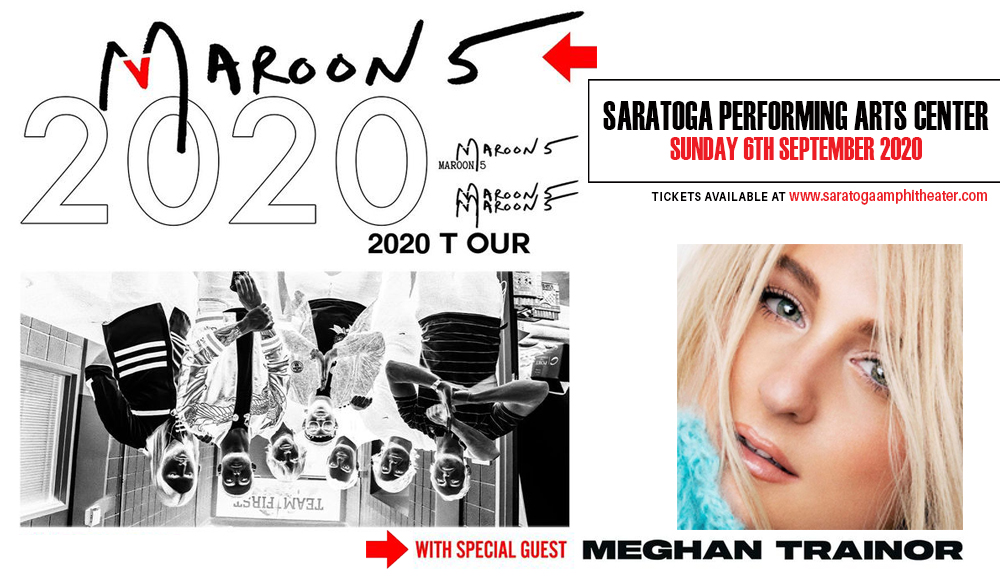 Maroon 5 & Meghan Trainor at Saratoga Performing Arts Center