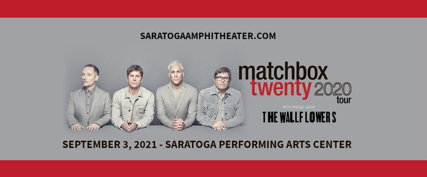 Matchbox Twenty & The Wallflowers at Saratoga Performing Arts Center