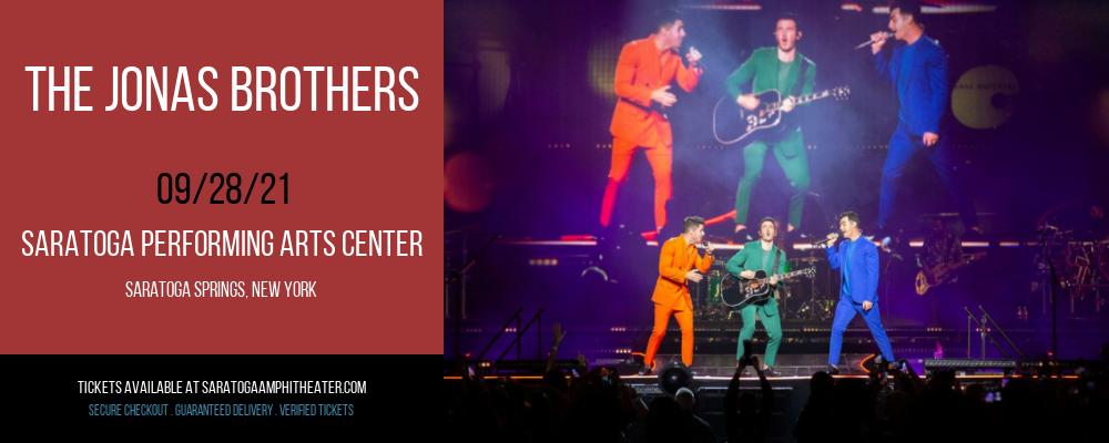 The Jonas Brothers at Saratoga Performing Arts Center