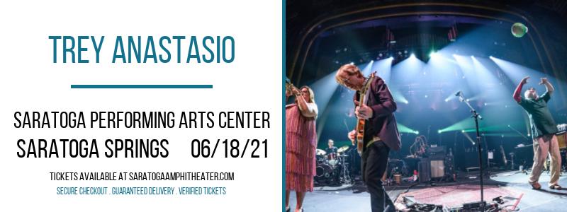 Trey Anastasio at Saratoga Performing Arts Center