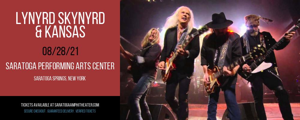 Lynyrd Skynyrd & Kansas at Saratoga Performing Arts Center