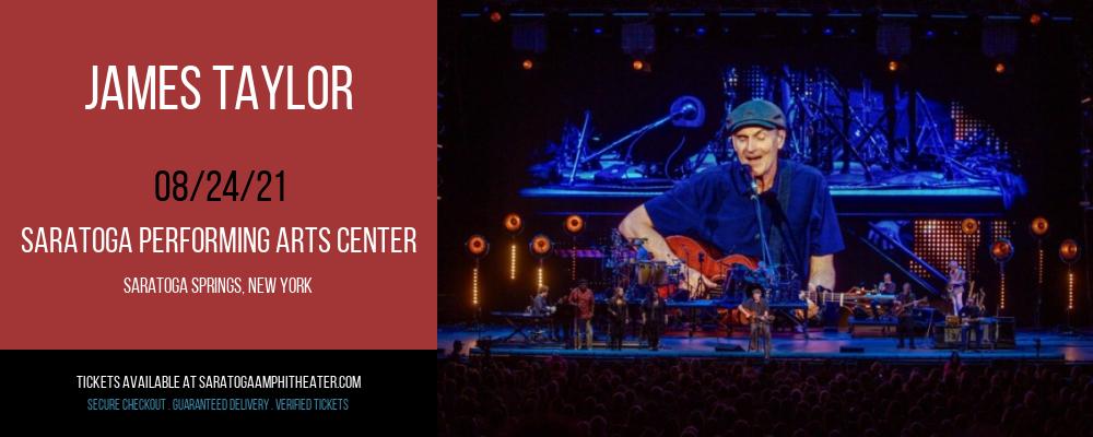 James Taylor at Saratoga Performing Arts Center